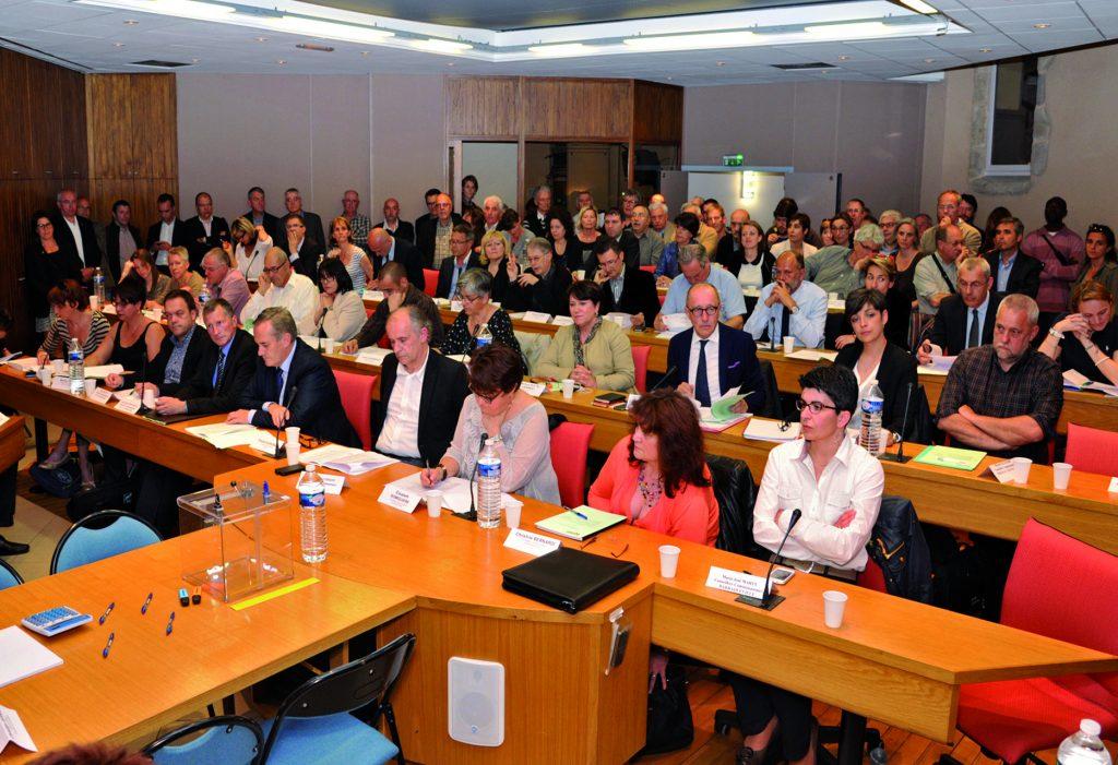La réunion du Conseil de communauté électif en 2014