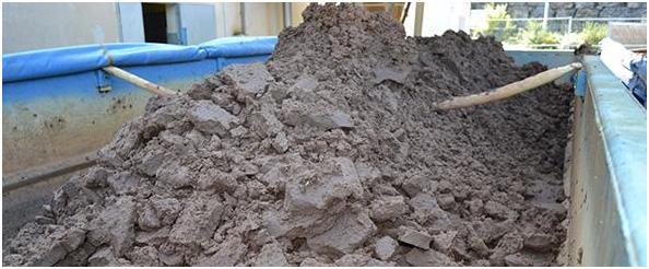Traitement des boues à la station d'épuration