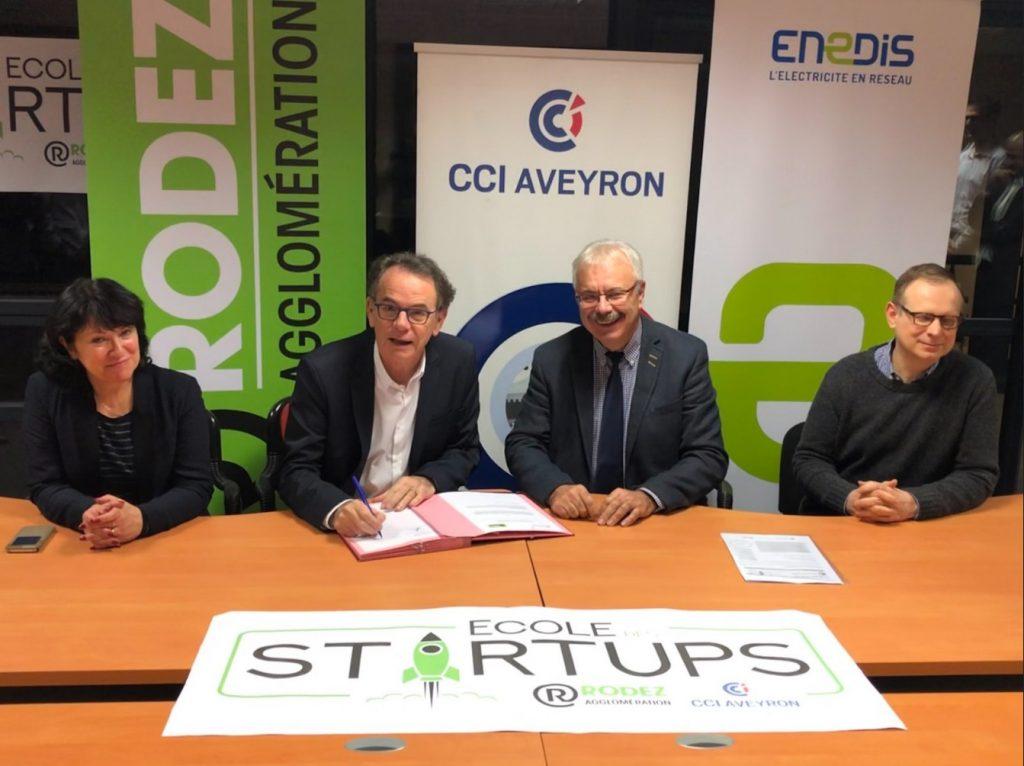 École des startups à Rodez