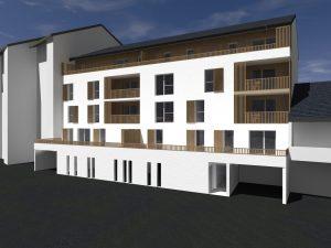 programme de logements sociaux rue Henri Fabre à Rodez