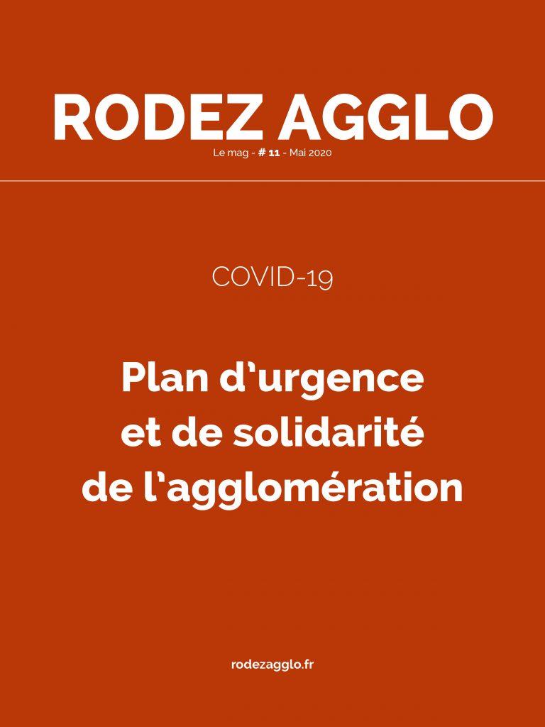 Numéro 11 du magazine de Rodez agglo consacré au COVID-19