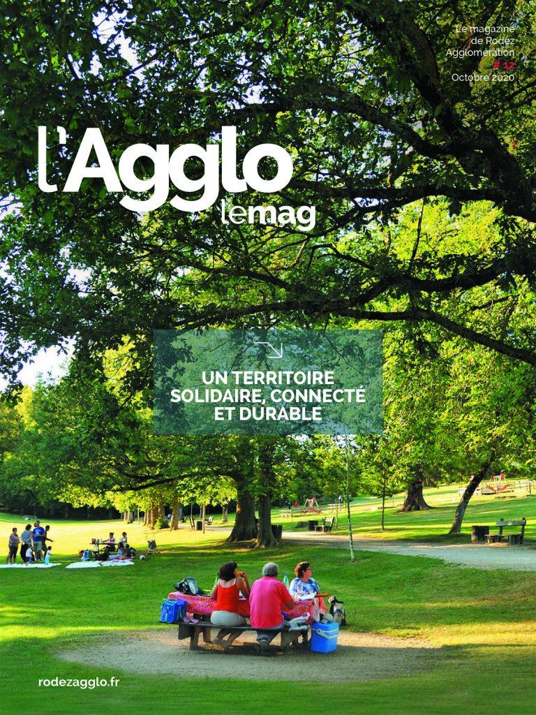 Couverture du magazine 12 de Rodez agglo