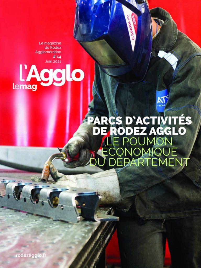 Couverture du magazine n°14 de Rodez agglo