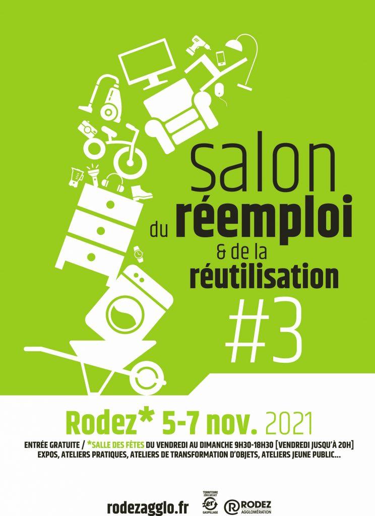 Salon du réemploi et de la réuntilisation du 5 au 7 novembre 2021