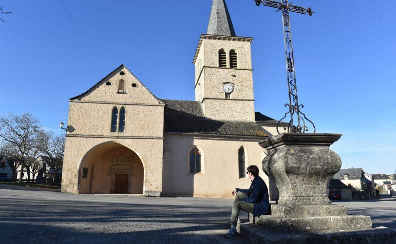 Eglise de Balsac Eglise de Balsac à Druelle-Balsac